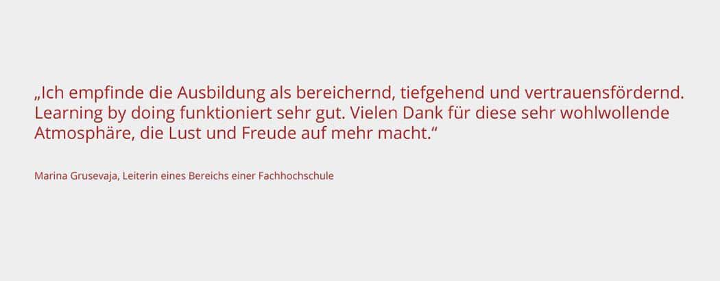 Coaching Ausbildung Frankfurt Kundenstimme Life und Business Coaching